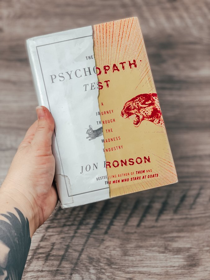 The Psychopath Test Book Review– A Journey Through the Madness Industry