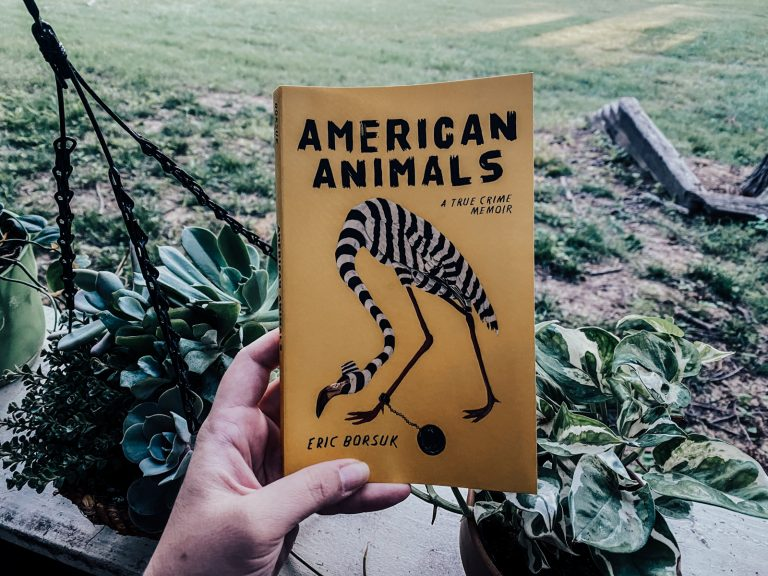 American Animals: A True Crime Memoir by Eric Borsuk